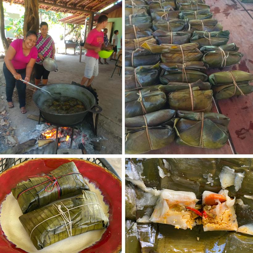 tamales met kerst in costa rica