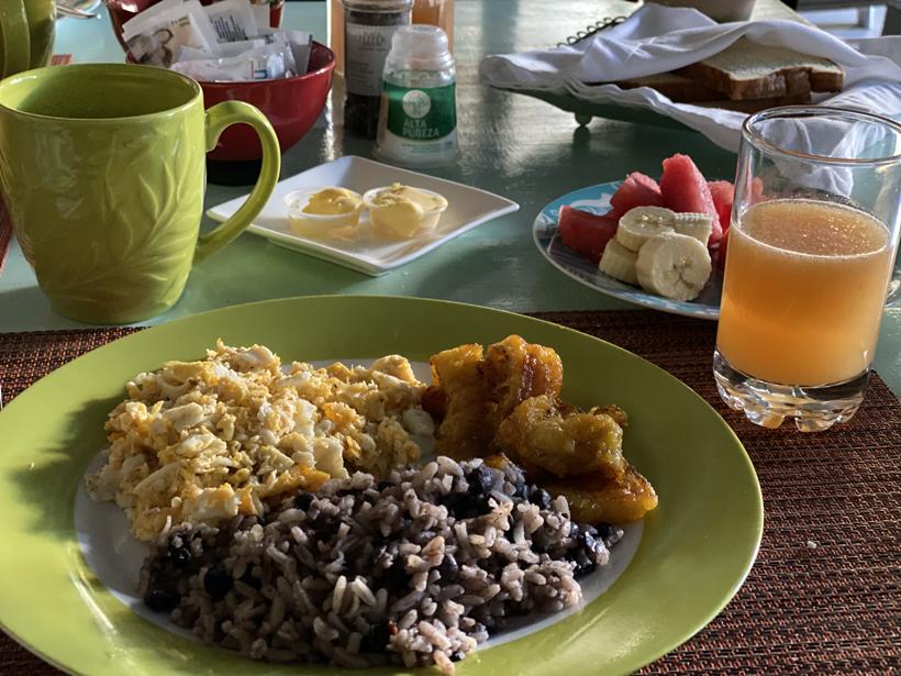 Gallo Pinto ontbijt in Costa Rica
