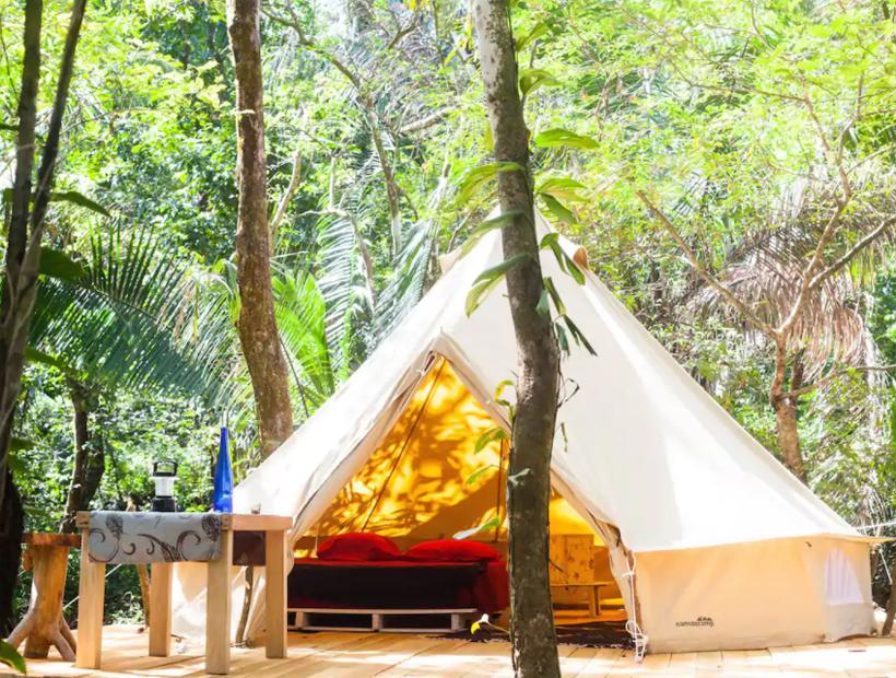 camping tussen nosara en samara