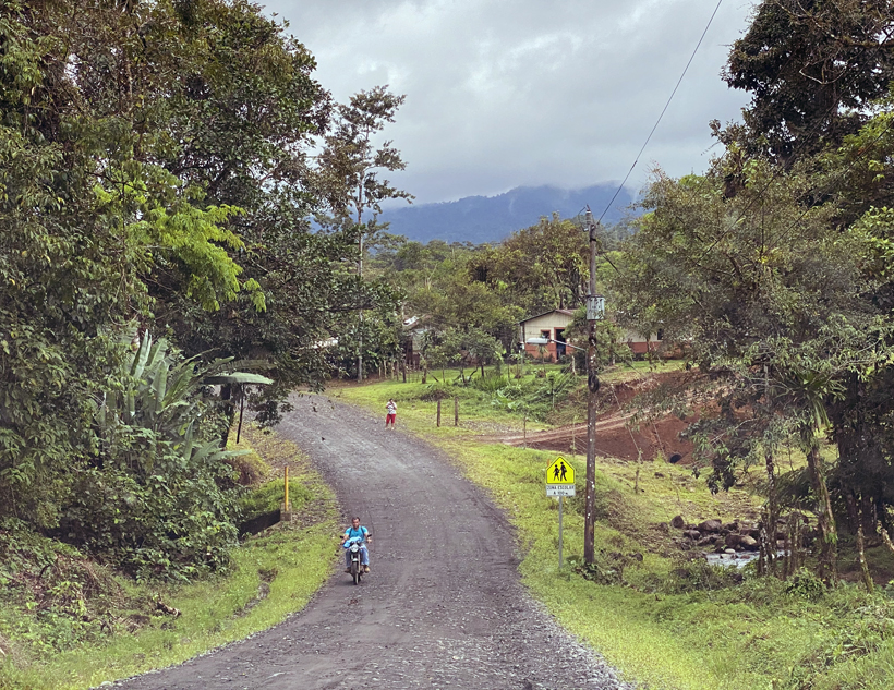 Dos Rios bij vulkaan Rincon de la Vieja