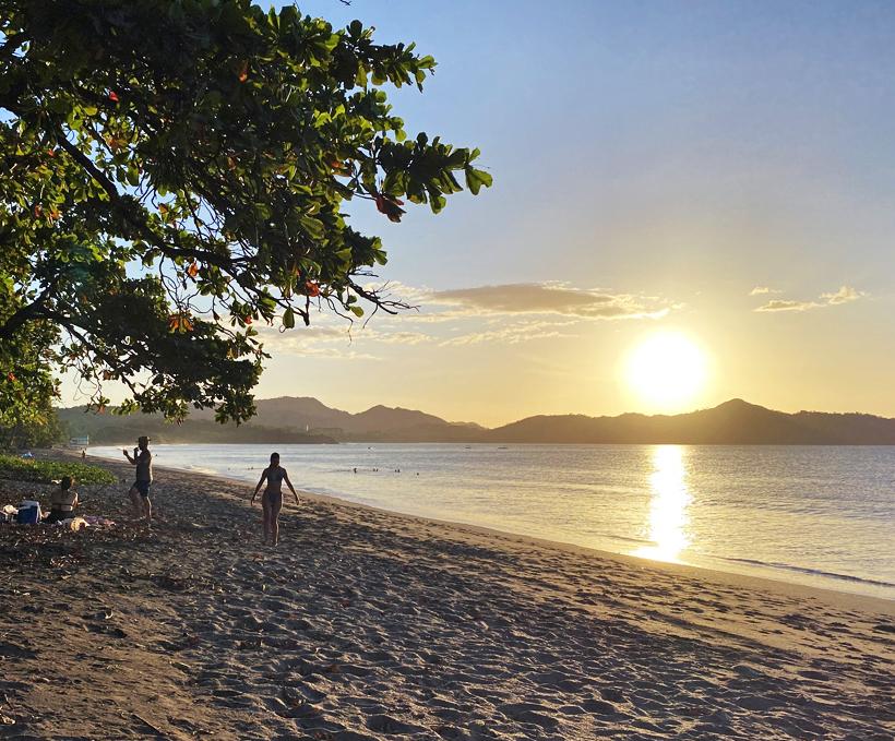 strand zonsondergang Brasilito