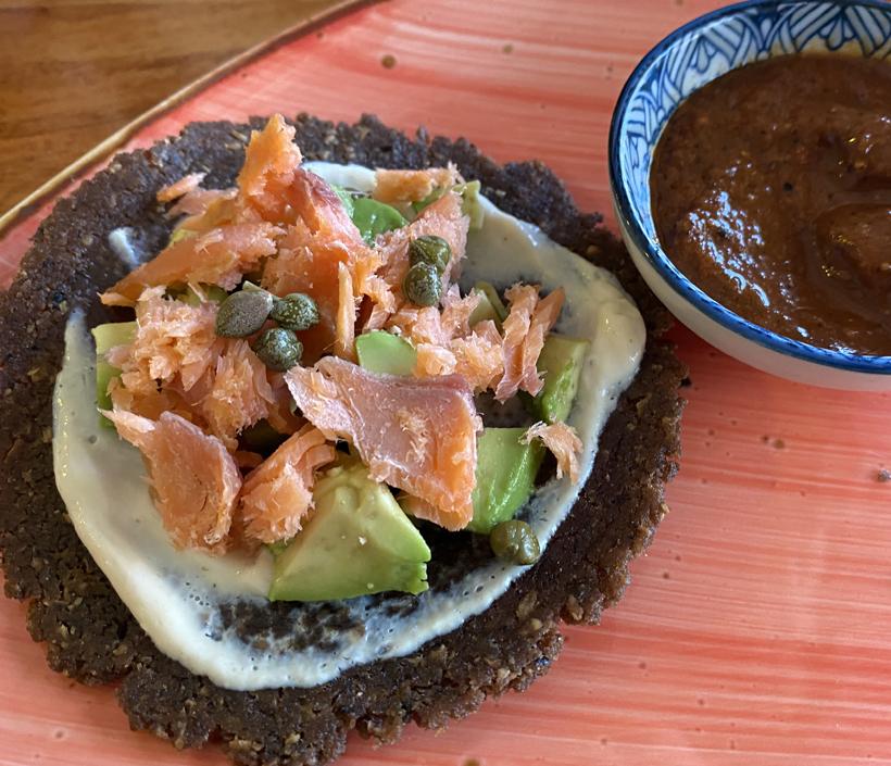 vegan snacks in Playas del Cocos
