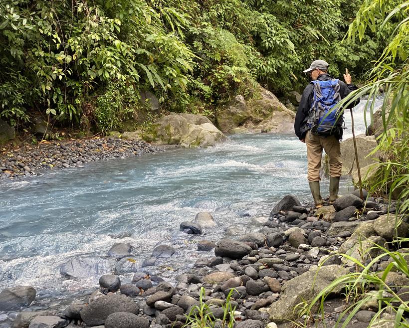 wandelen in Costa Rica met gids Olgan