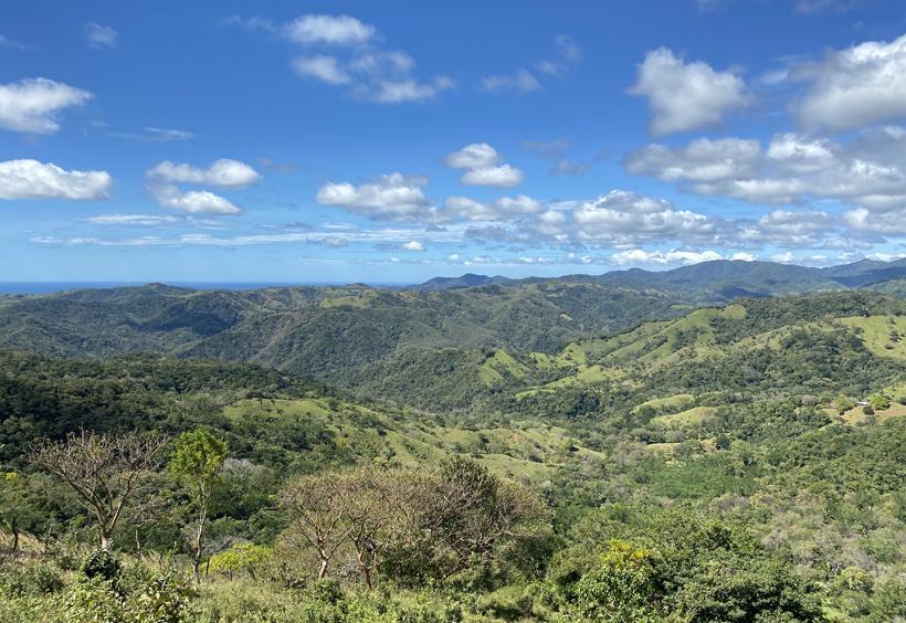 heuvels boven Nosara