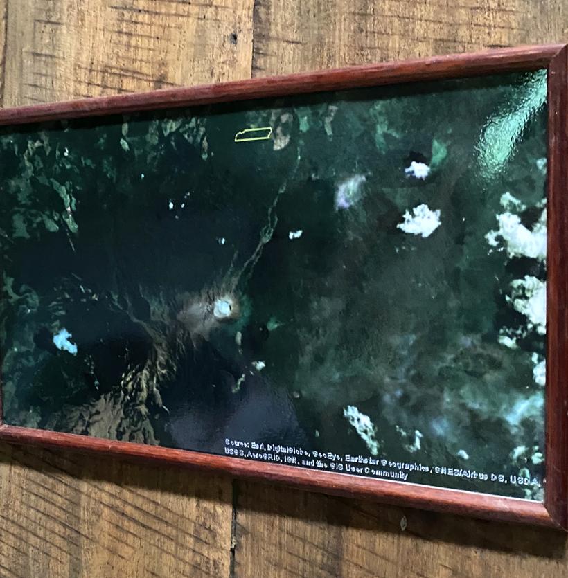locatie off the grid cottage Dos Rios bij vulkaan Rincon de la Vieja