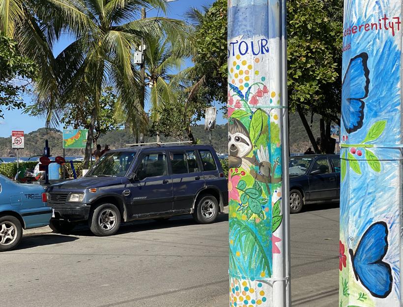 kleurrijk Playas del Coco