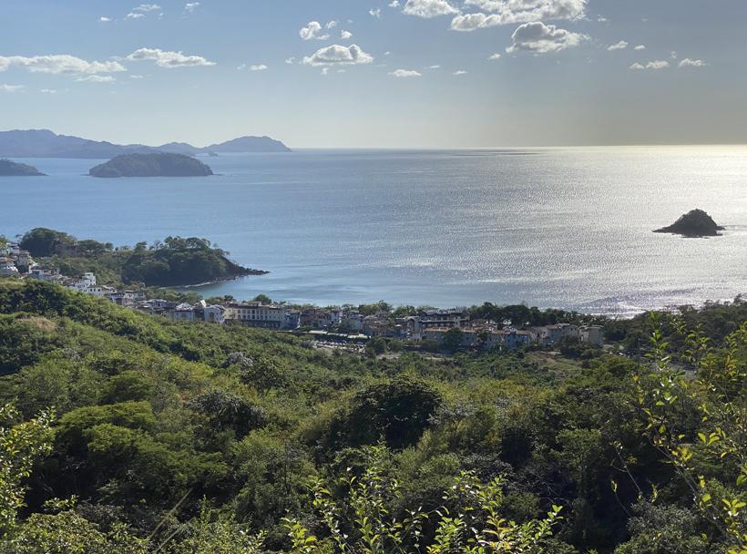 Las Catalinas beach town in de Gold Coast