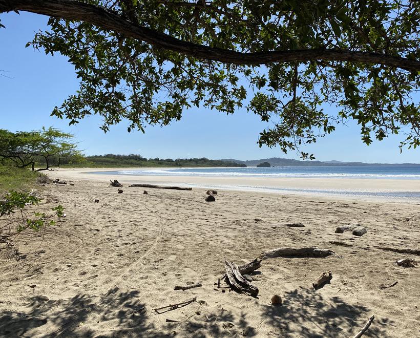 Playa Ventanas in natuurgebied
