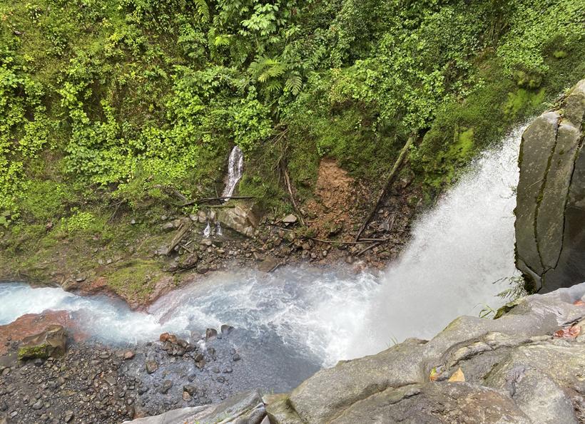 Rio Penjamo waterval Dos Rios