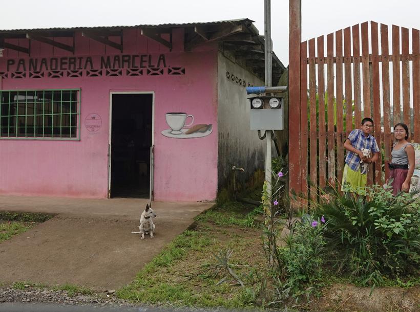 bakker in Dos Rios
