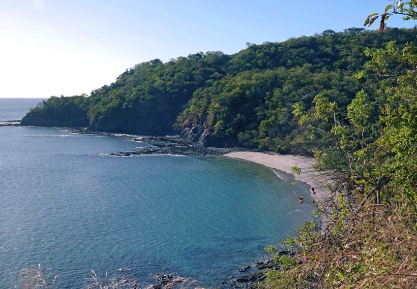playa danita uitzicht