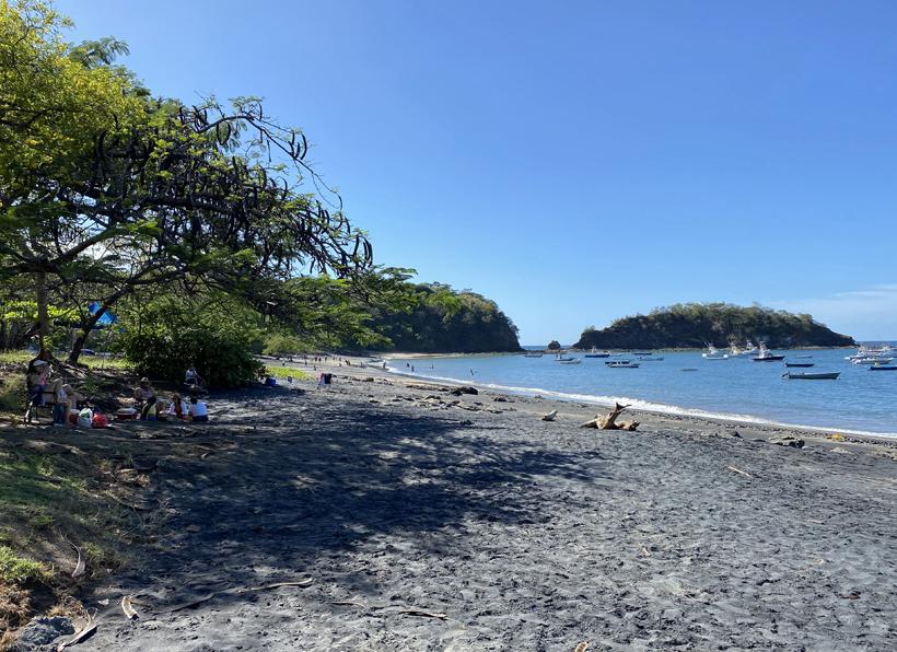 zwart strand Ocotal in Gold Coast
