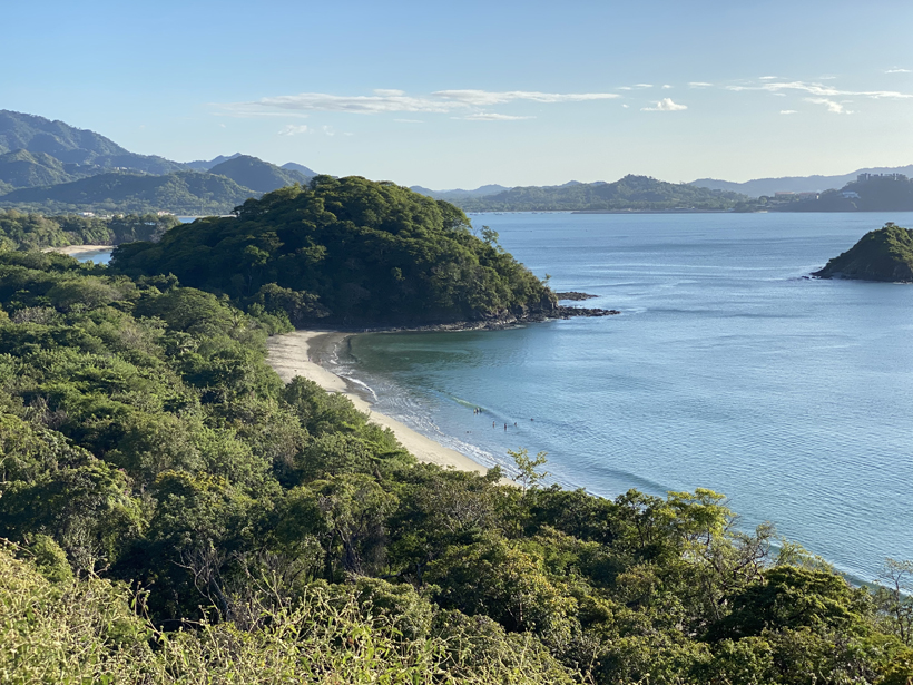 stranden playa penca en prieta in groene seizoen Gold Coast
