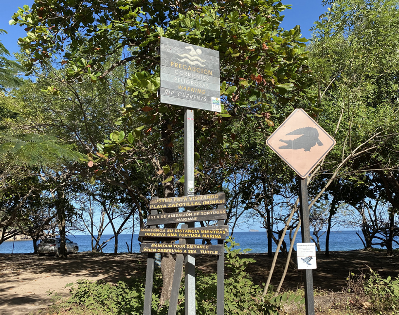 rustig strand Gold Coast playa zapotillal (Minas)