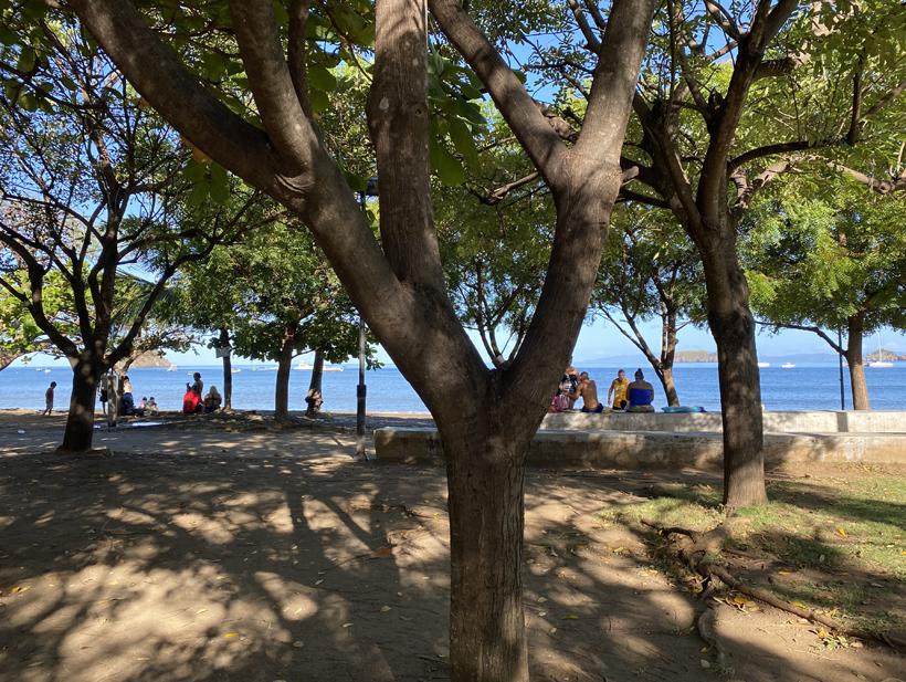 strandboulevard Playas del Coco