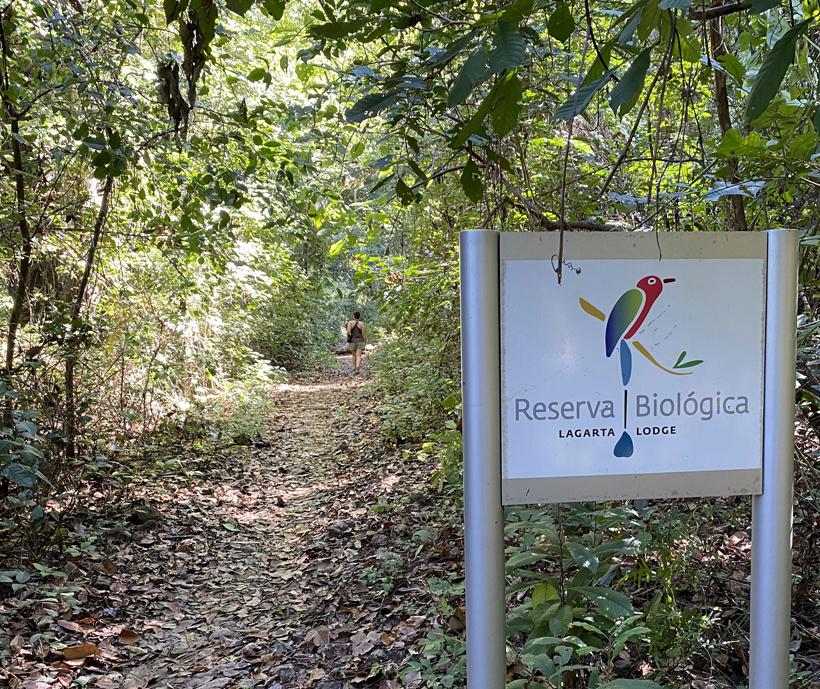 wandelen in natuurreservaat Nosara