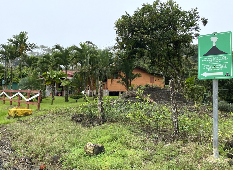 Dos Rios in vulkanisch gebied