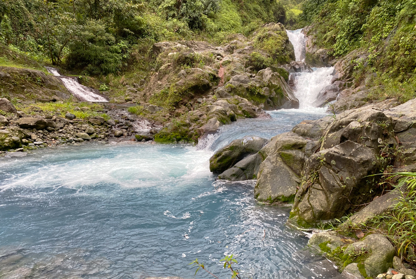 Rio Penjamo watervallen Dos Rios