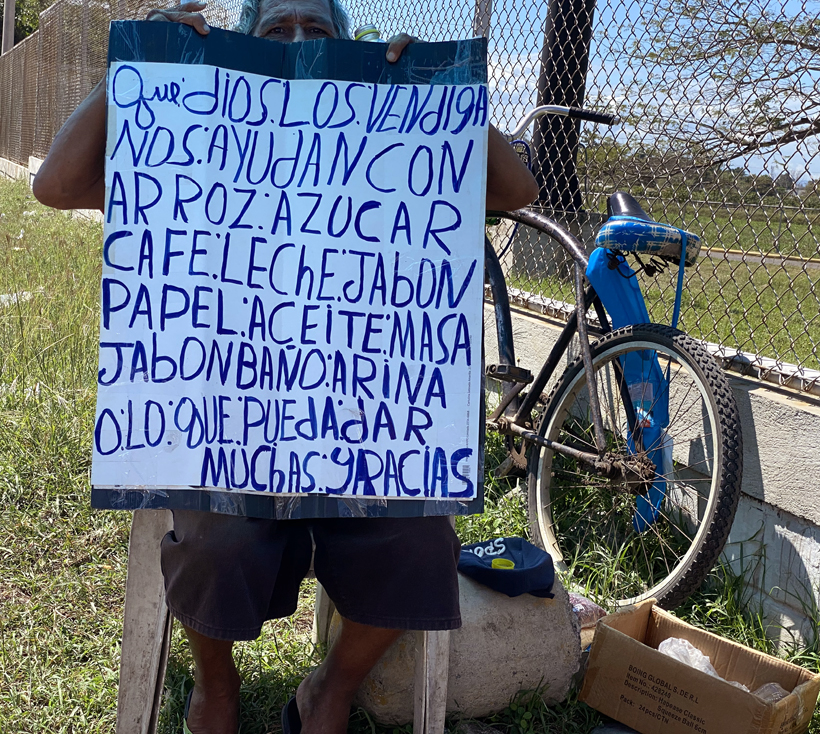 armoede in Miramar Costa Rica