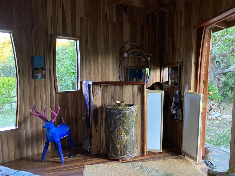 toilethoekje kamer Finca Pipilacha