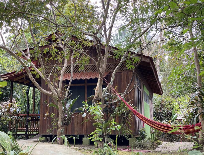 logeren in Escondido lodge in Karen Mogensen