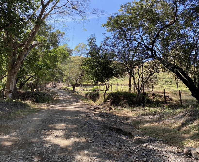 weg naar Diria national Park