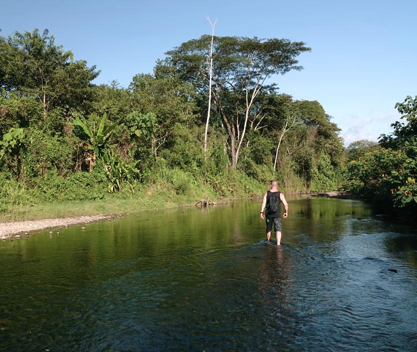 rivier Rio Blanco vlakbij Karen Mogensen