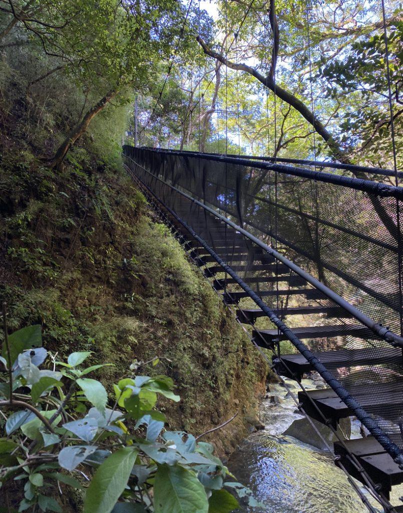 hangbrug Oropendola waterval