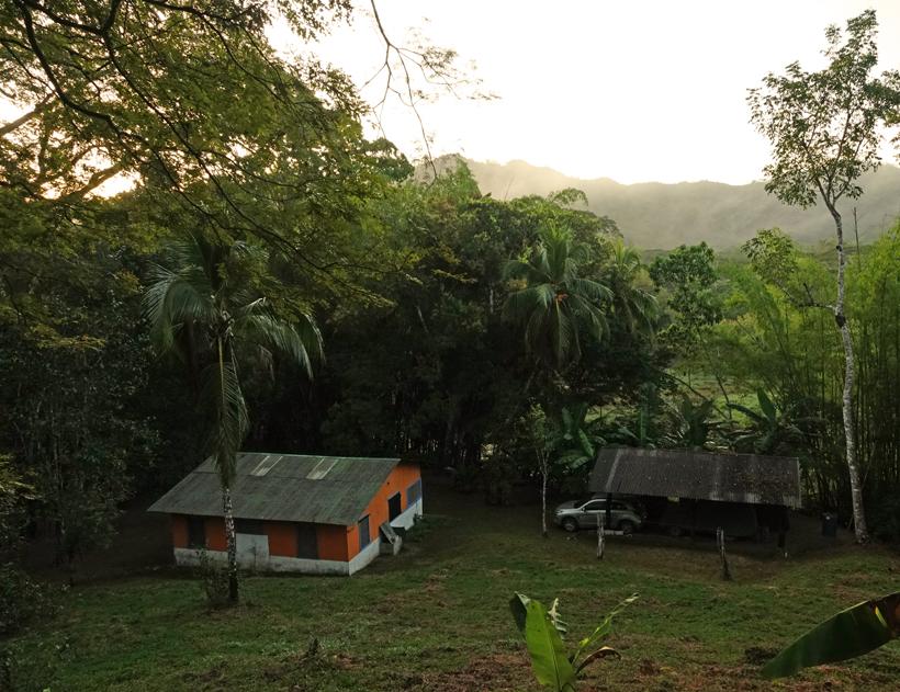 ochtend in jungle hideaway in San Ramon de Rio Blanco