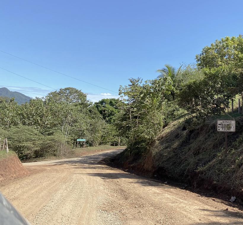 Ruta 162 naar Bongo