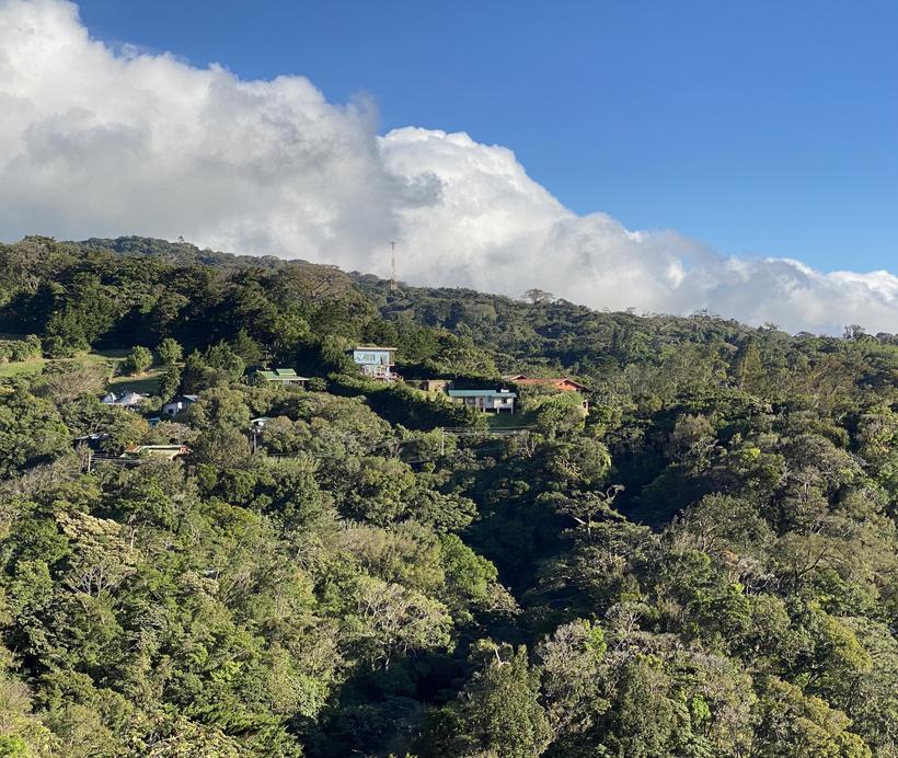 mooi weer Santa Elena Monteverde