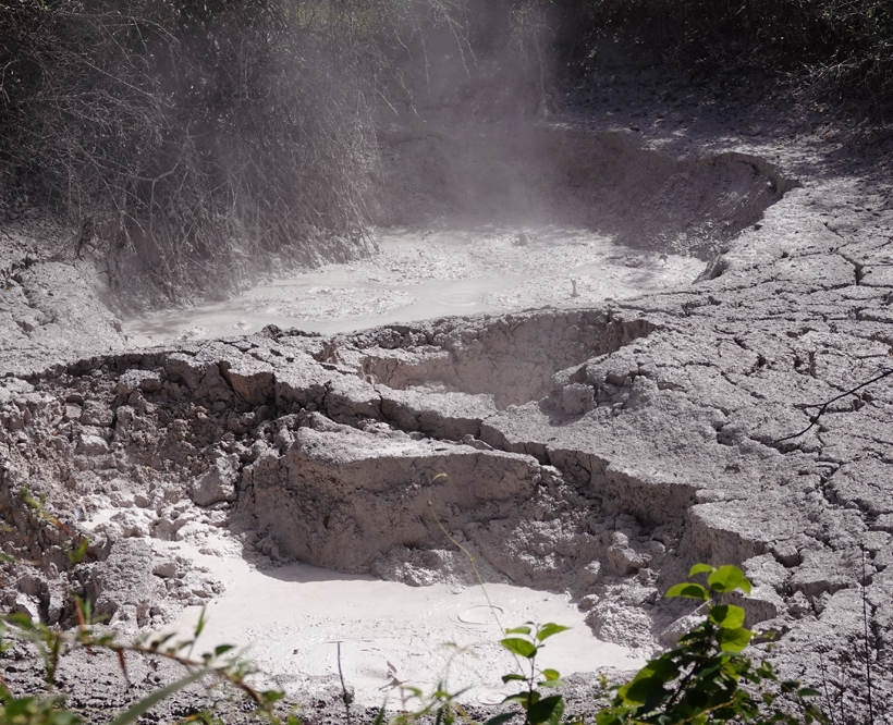 vulkanische activiteit Rincon de la Vieja