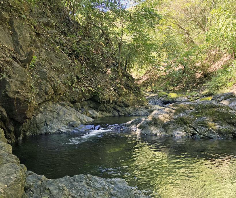 zwempoel in Diria Nationaal Park