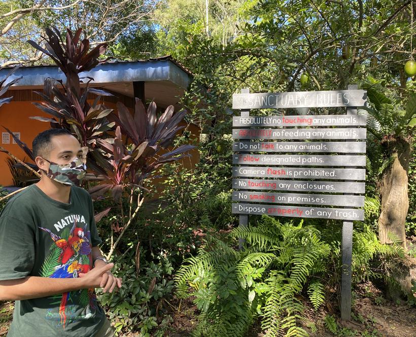 rondleiding bij dierenopvangcentrum Natuwa