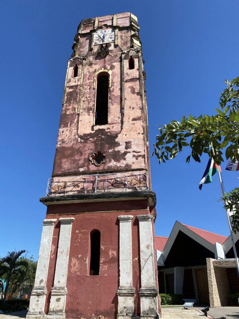 oude toren 1890 santa cruz kerk