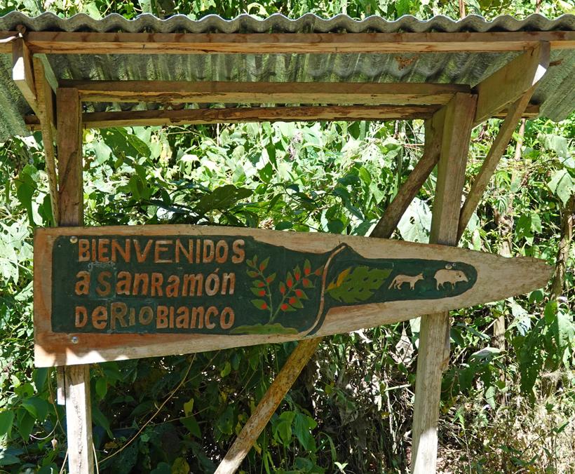 dorpje san ramon de rio blanco