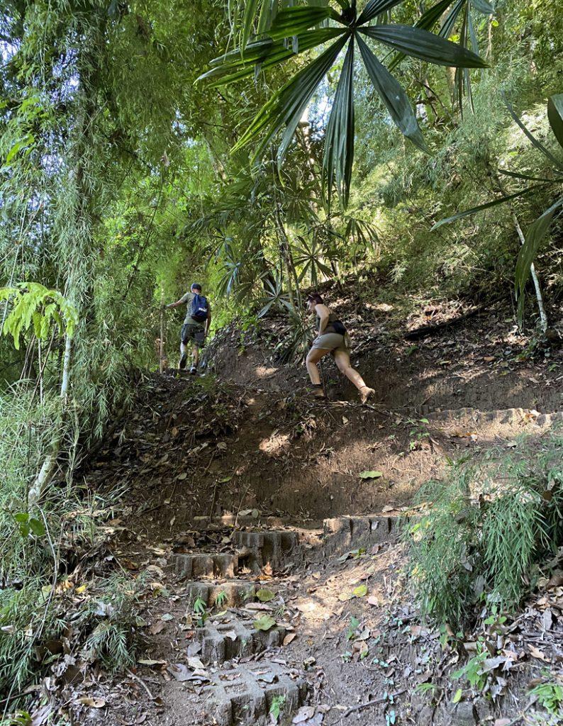 trappen naar Escondido Lodge