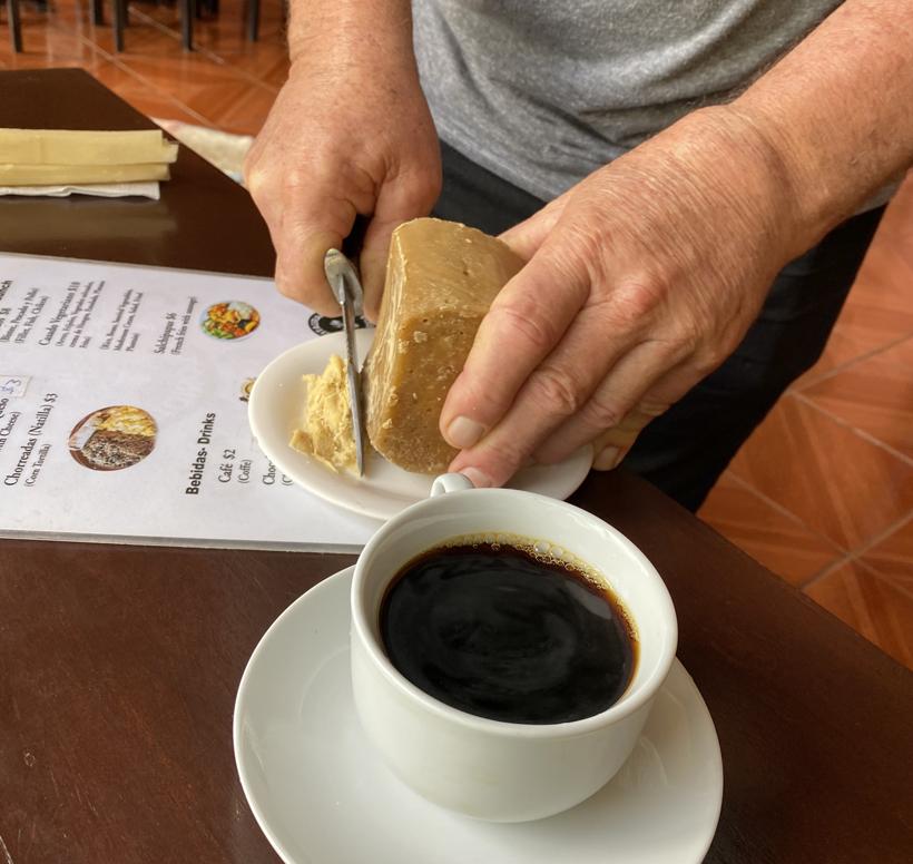 tapas de dulce bij de koffie