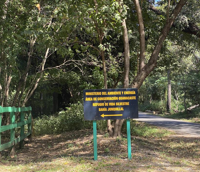 Ingang Junquillal wildlife refuge