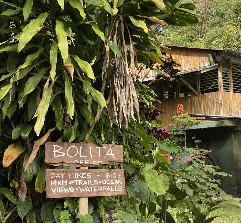 wandelen in La Bolita Dos Brazos