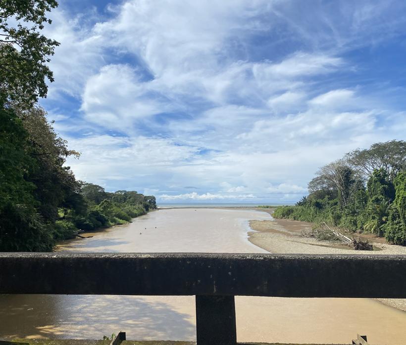 brug over de Rio Baru