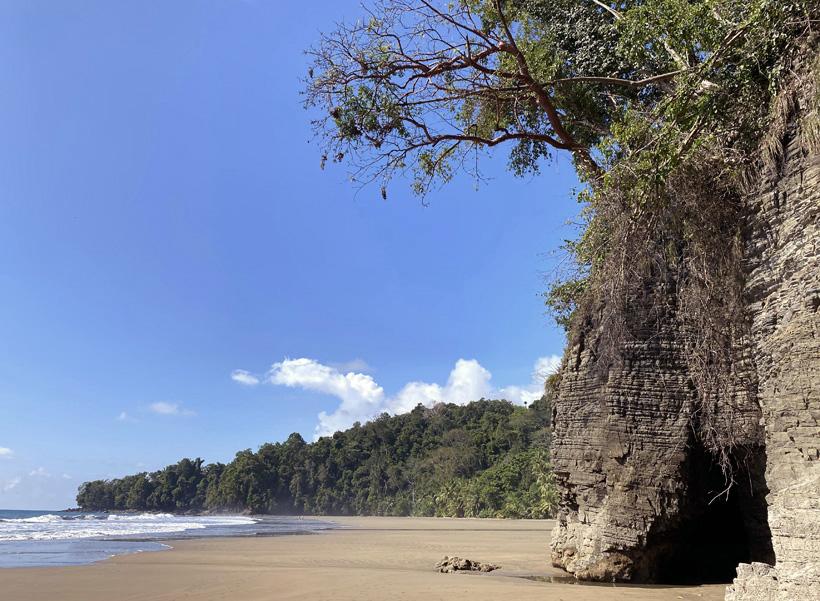 strand Playa Arco in Uvita