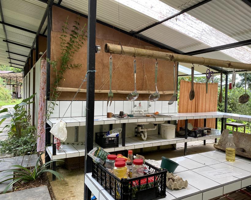 keuken la Bolita hostel