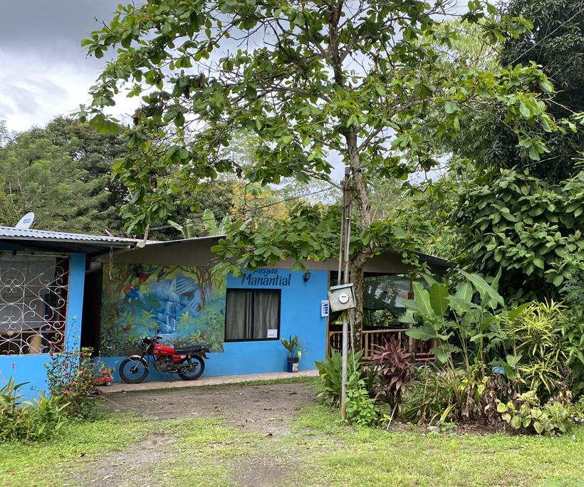logeren in dorp Dos Brazos