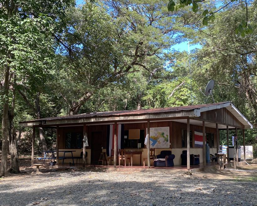 ranger station santa rosa Nationaal park Murcielago