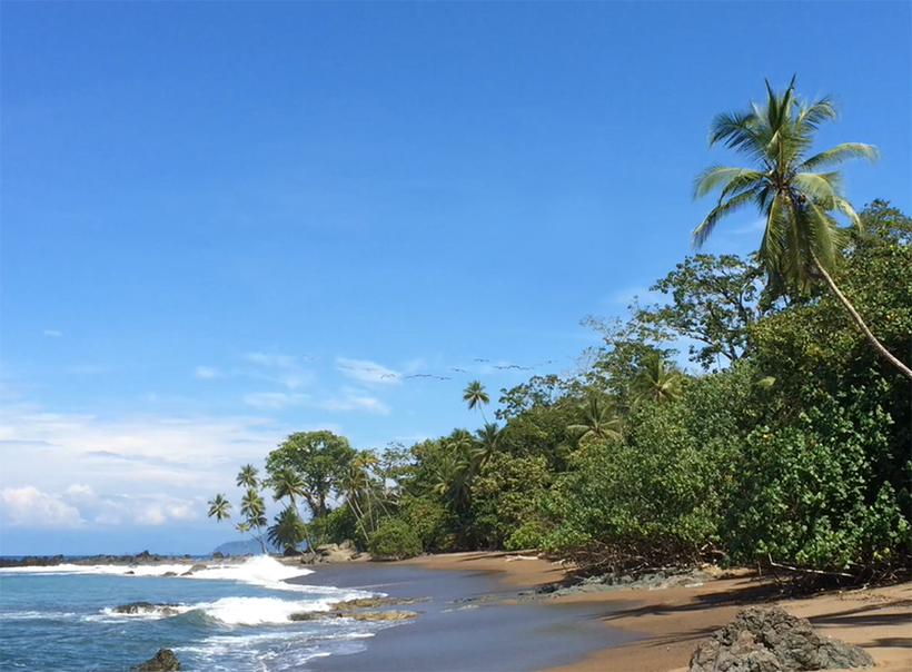 wandelen in Costa Rica Drake Bay