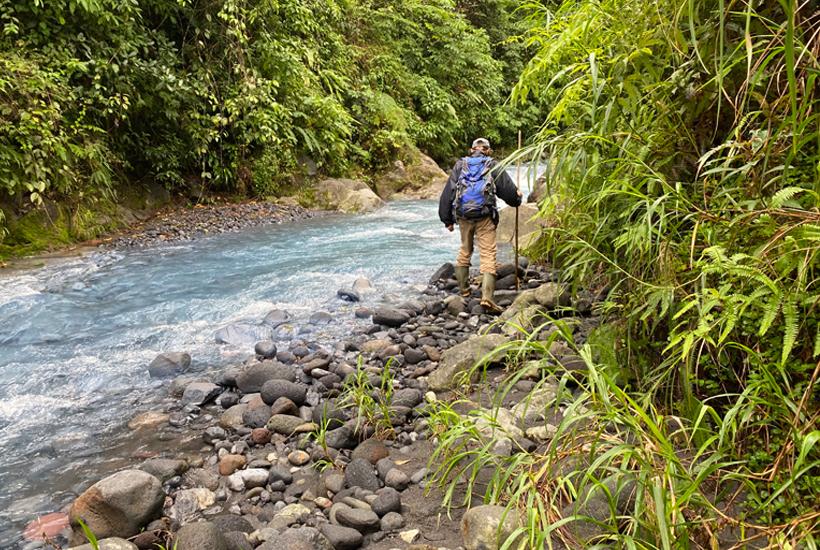 gratis wandelingen in Costa Rica