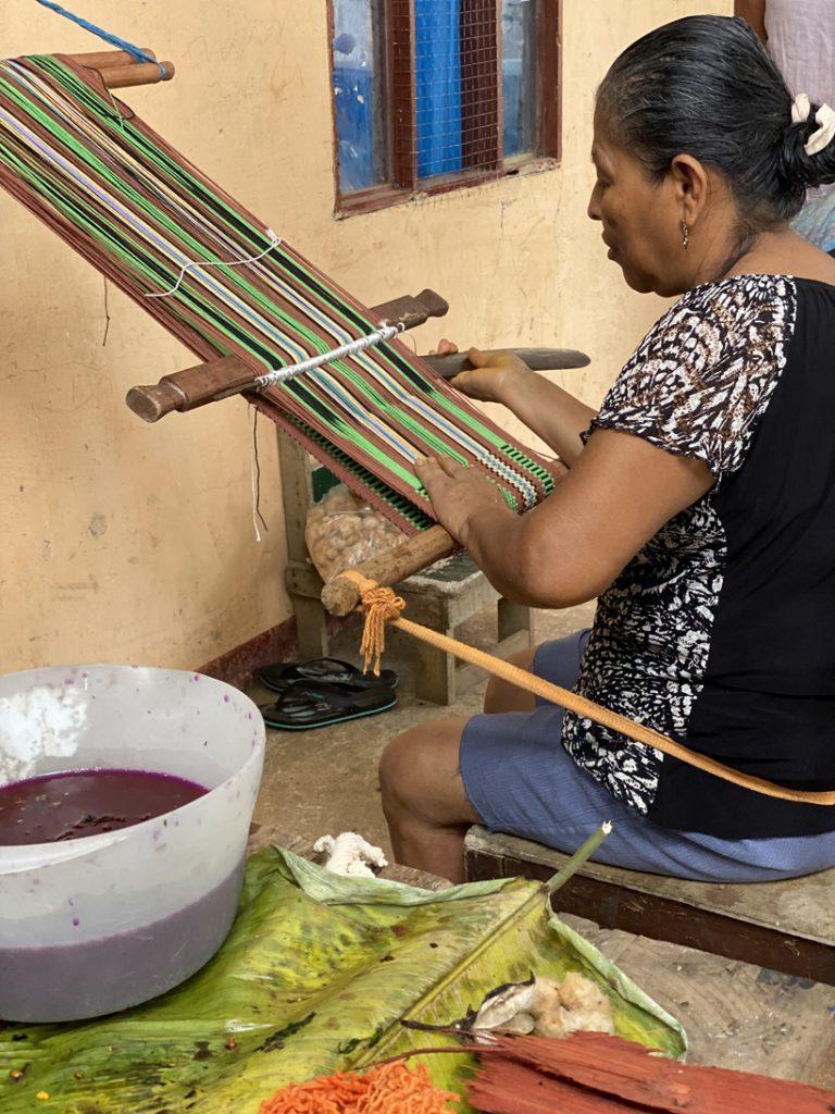 demonstratie boruca weven