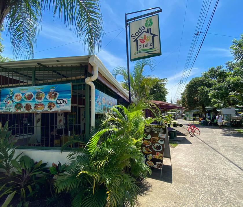 eten in Tortuguero