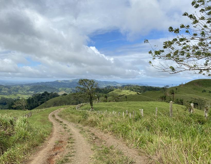 dirt road in Guanacaste